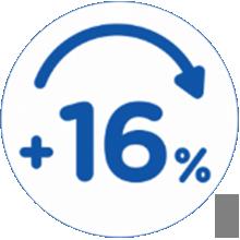 16 percent