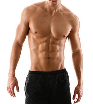 Male EMSCULPT model